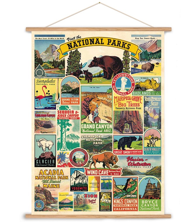 National Parks Art Poster